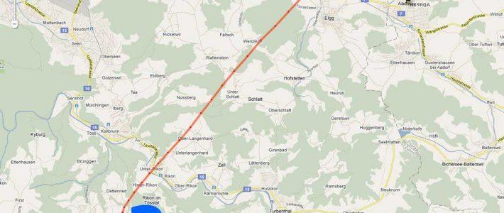 P56-Ballon im Kanton Zürch vermisst
