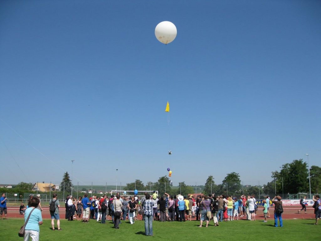 P56 Ballonprojekt 20.07.2013