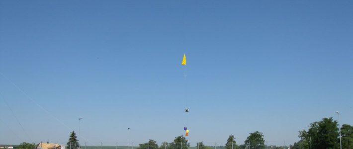 P56 Stratosphärenballon knackt 34000m-Marke