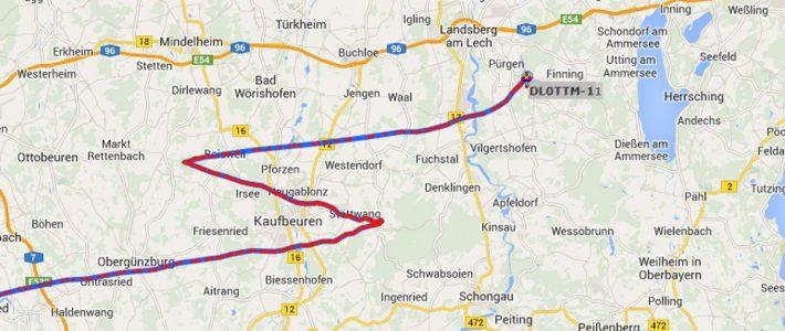 HAM RADIO Stratosphärenballon landet erstmals in Deutschland
