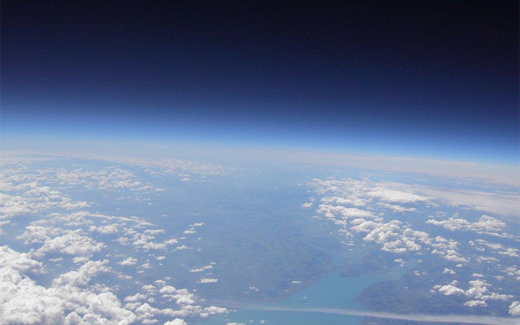 Stratosphärenballons anlässlich der HAM RADIO WORLD